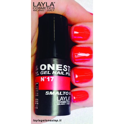 Vienfāzes gēla laka ONE STEP Layla gel polish 10 ml